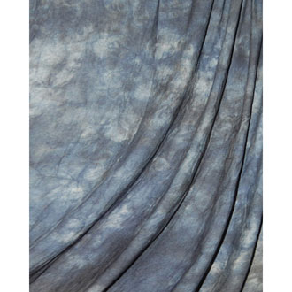 Muslin Blue Winter Crushed