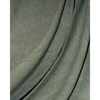 Muslin Forest Green Washed